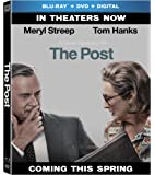 The Post (Blu-ray + DVD + Digital)