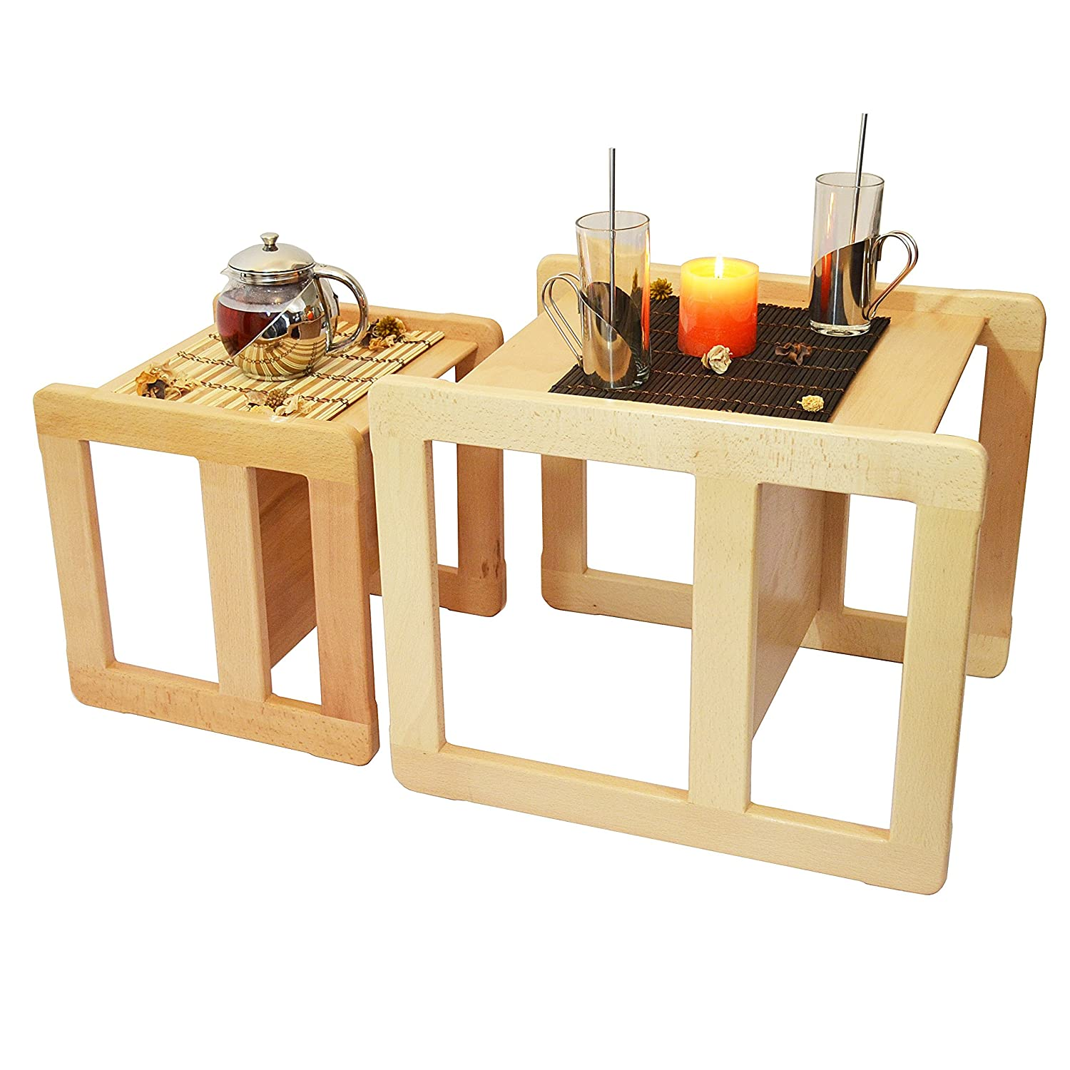 furniture multifunction. Obique 3 In 1 Children\u0027s Multifunctional Furniture Set Of 2, One Small Chair Or Table And Large Beech Wood, Natural: Amazon.co.uk: Multifunction O