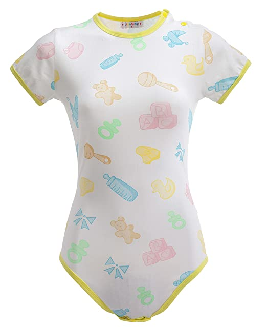 LittleForBig Amante de la Ropa Siamés para Adulto Bebé y del Pañal (ADBL) con