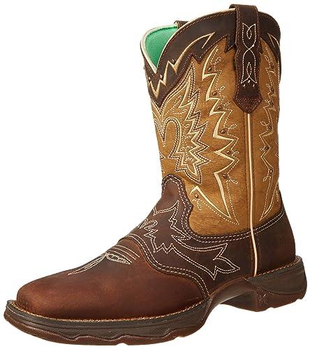 Durango Women's RD4424 Boot,Nicotine/Brown,6 ...