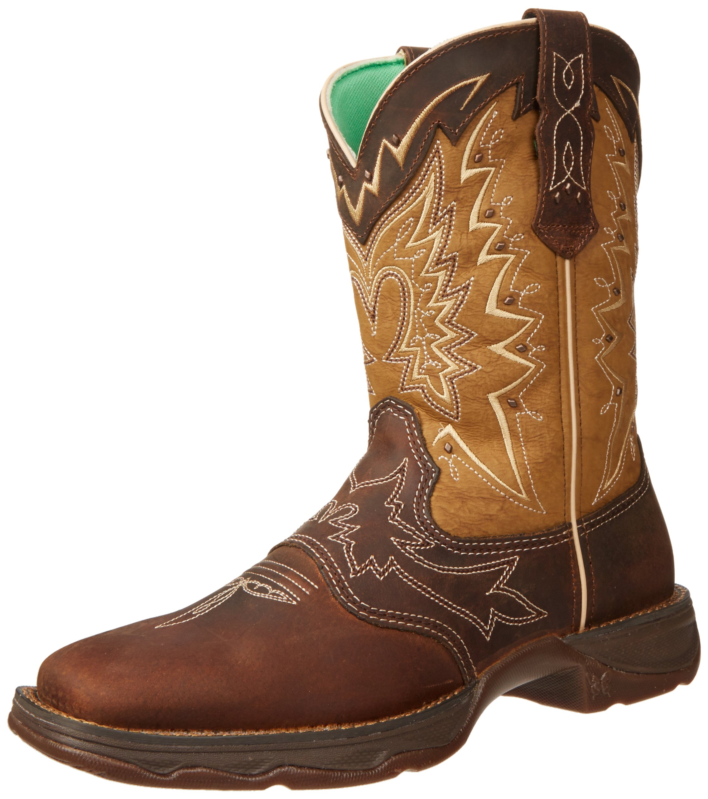 Durango Women's RD4424 Boot,Nicotine/Brown,10 M US