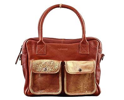 LE DANDY Naturel sac bandoulière cuir de buffle pleine fleur style vintage PAUL MARIUS ajApwGJq