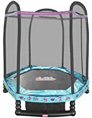 L.O.L. Surprise! 7' Enclosed Trampoline with Safety Net
