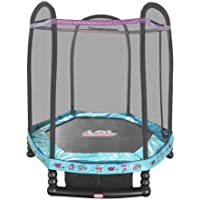 L.O.L. Surprise 7-ft Enclosed Trampoline with Safety Net