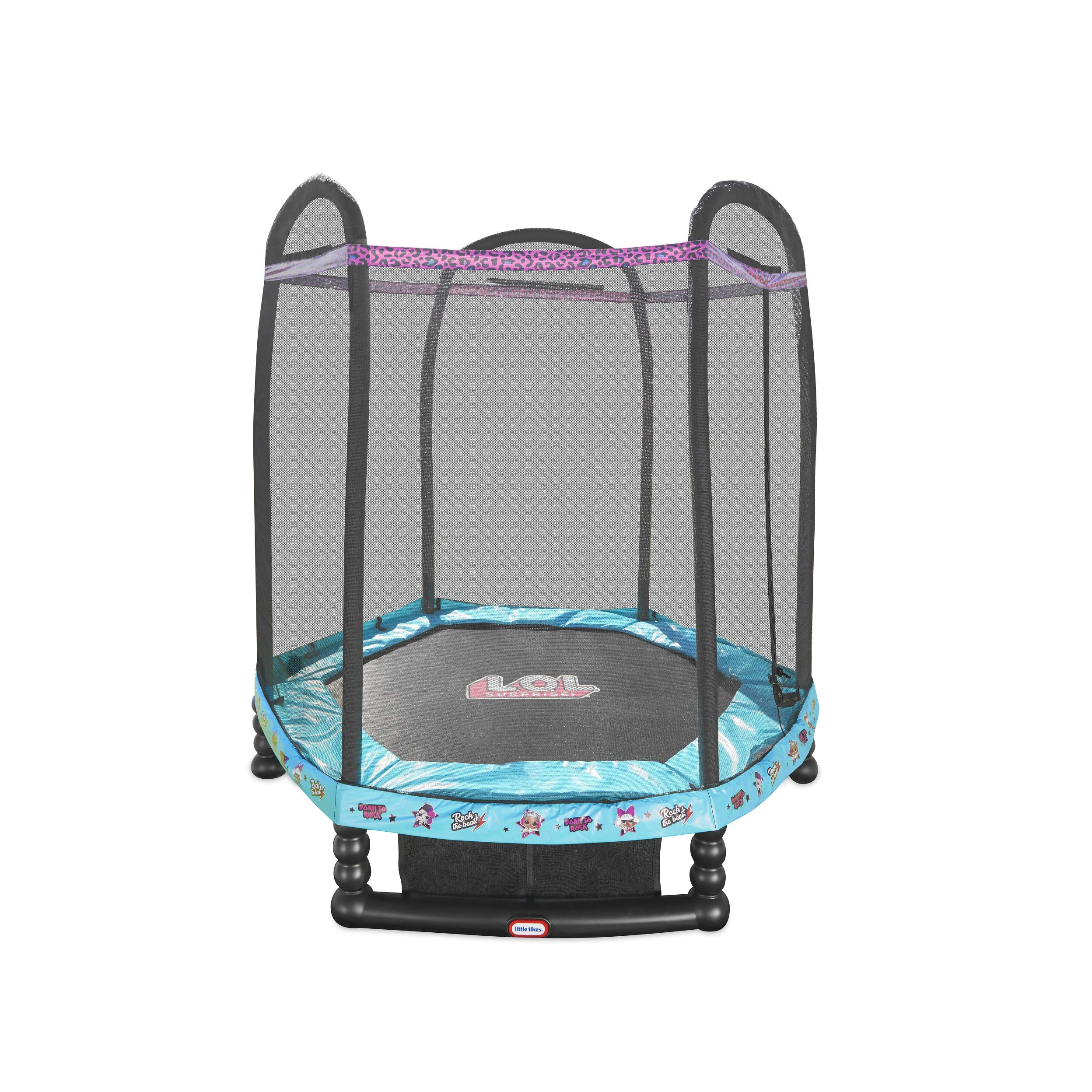 L.O.L. Surprise! 7' Enclosed Trampoline with Safety Net by L.O.L. Surprise!