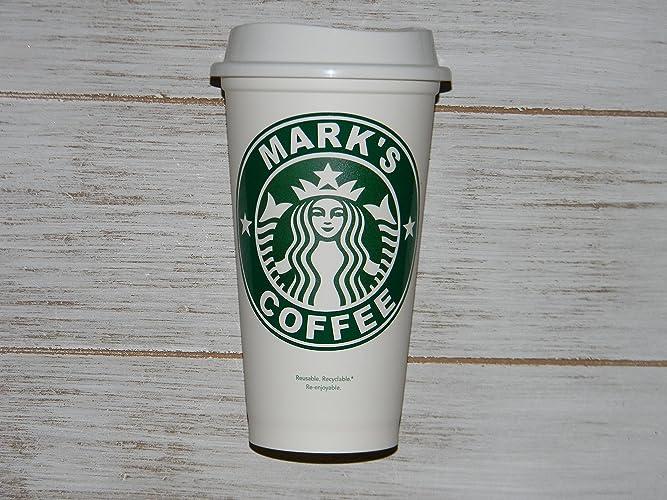Personalized Name Starbucks Cup Mug 16 Oz Reusable Travel Cup