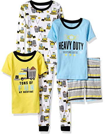 0f7bba0f5 Carter's Boys' 5-Piece Cotton Snug-fit Pajamas