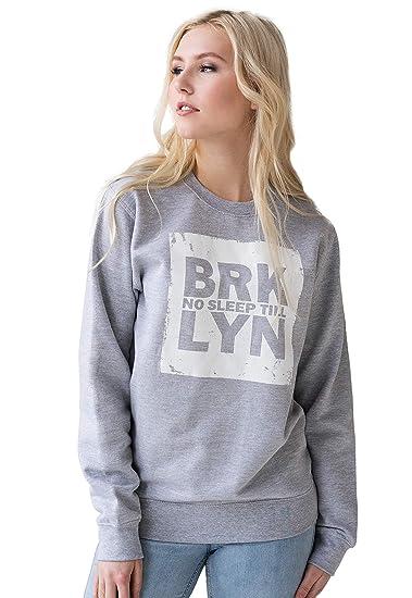 ba8f74f71 No Sleep Till Brooklyn Sweatshirt Hip Hop New York City Rap Women's Men's  ...