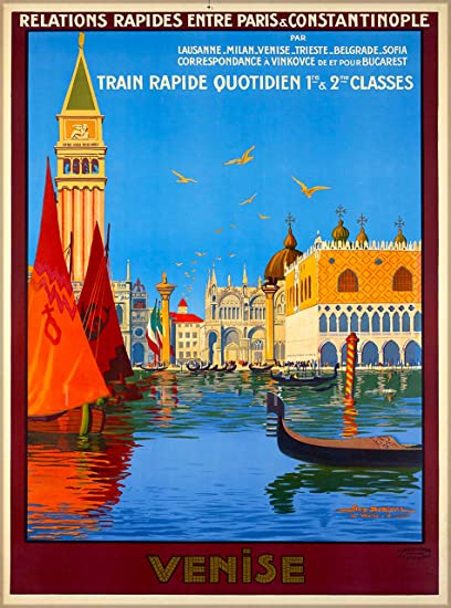 Amazoncom A Slice In Time Venise Venice Relations Rapides By Train