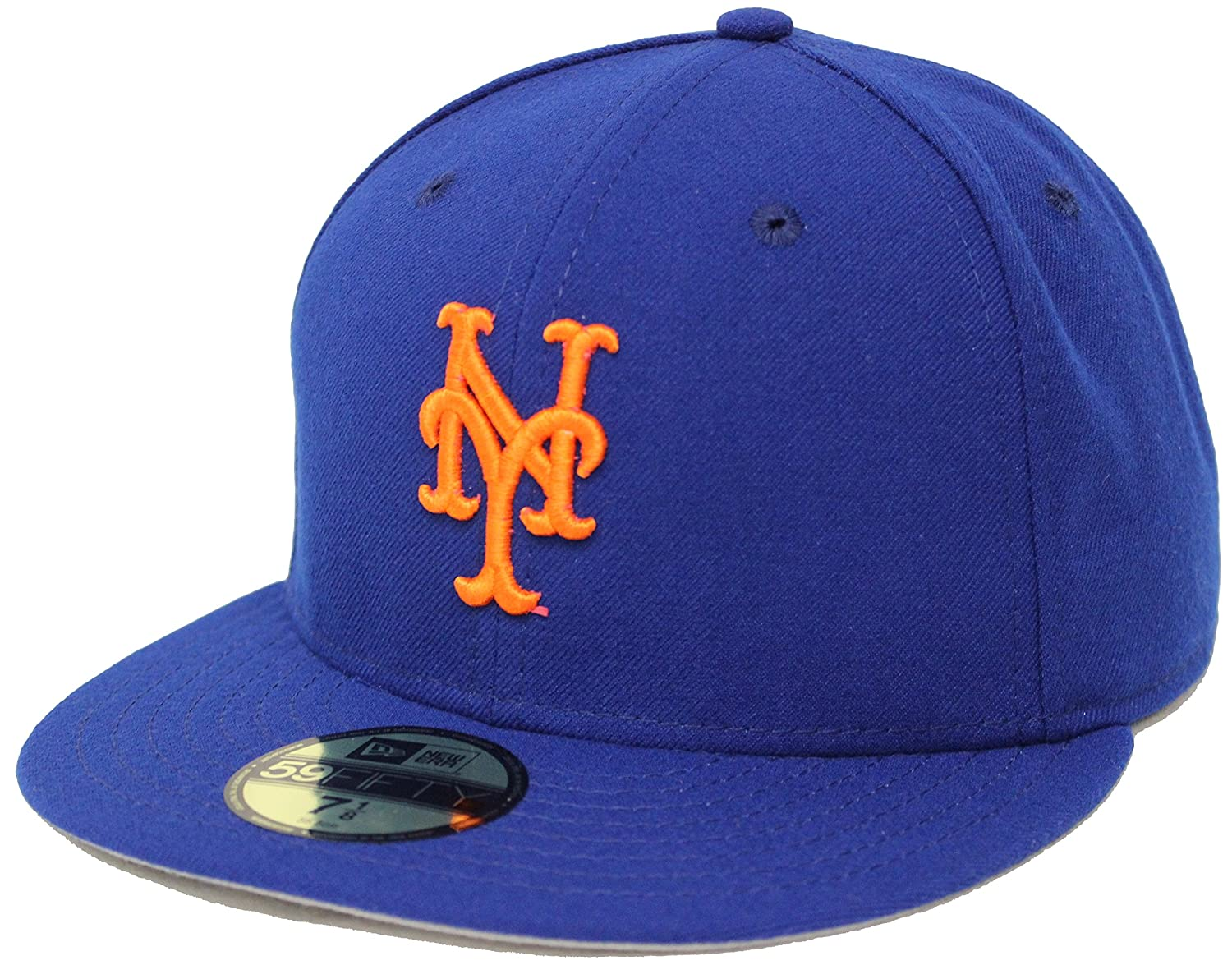 quality design 77692 98e17 New Era 59Fifty On Field New York Mets Blue Fitted Cap at Amazon Men s  Clothing store