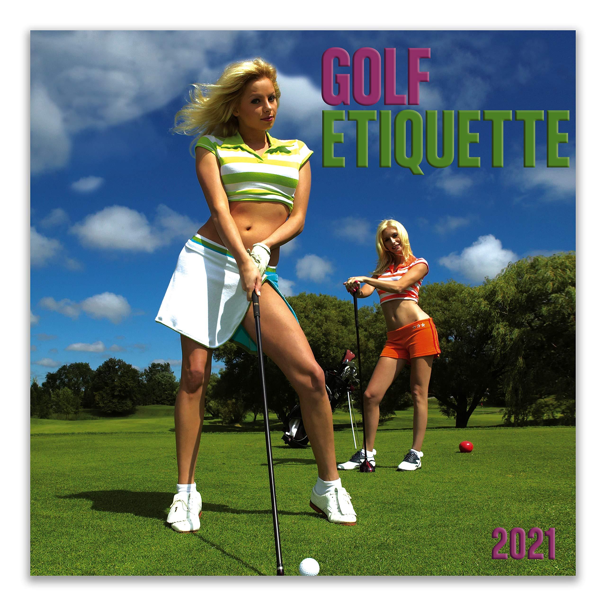 2021 Golf Calendar Golf Etiquette 2021 Wall Calendar: Zebra Publishing: 9781772185485