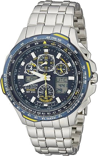 Citizen Skyhawk Blue Angels AT Montre Homme JY0040 59L