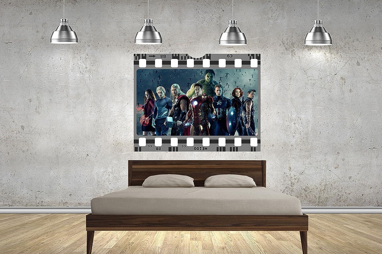 Marvel Avengers Film Strip Tira de película pared 70 cm pared ...