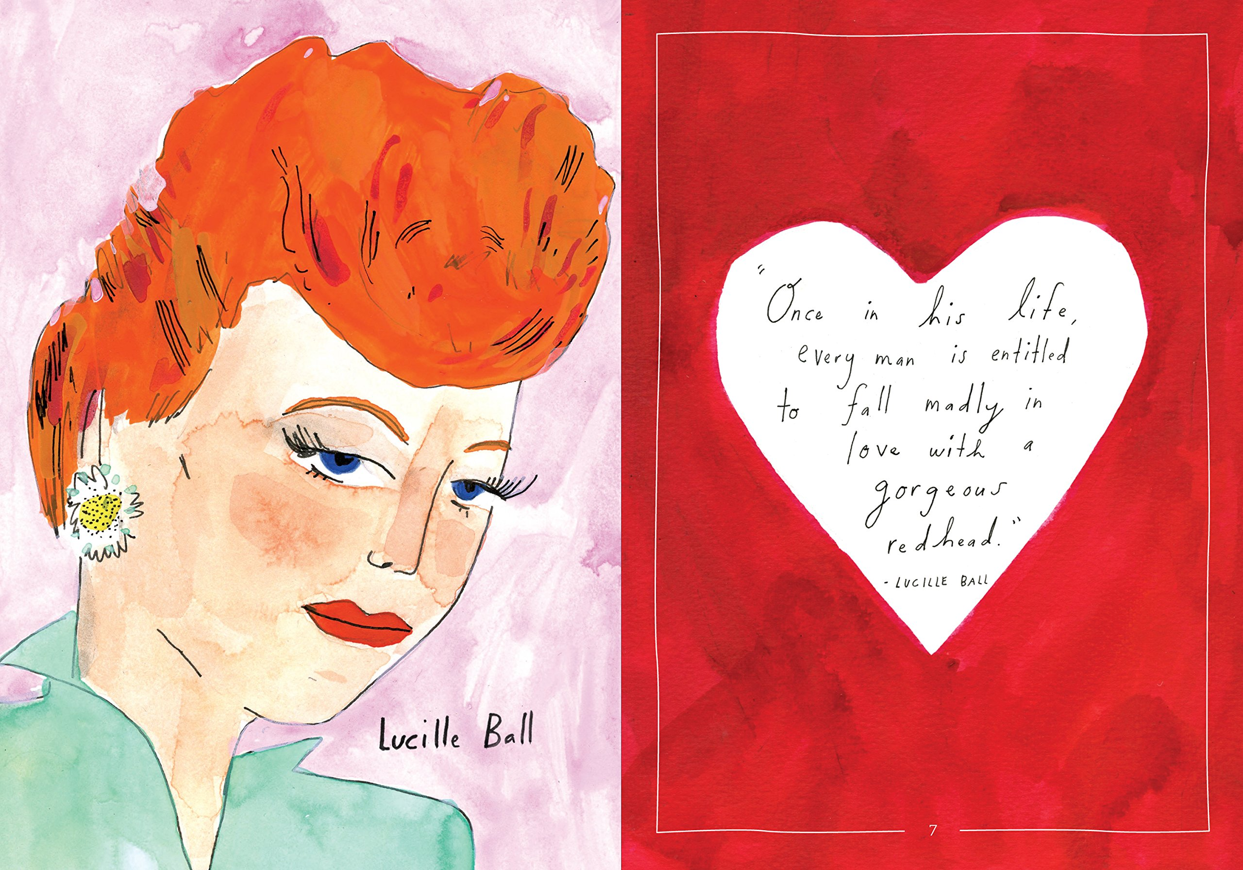 A Field Guide To Redheads An Illustrated Celebration Elizabeth Graeber 9780761185734 Amazon Books