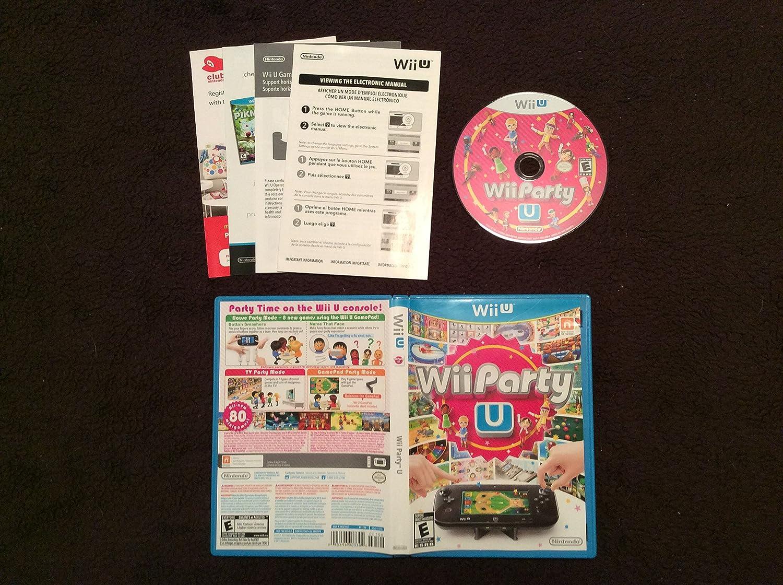 Wii Party U juego sólo: Amazon.es: Juguetes y juegos