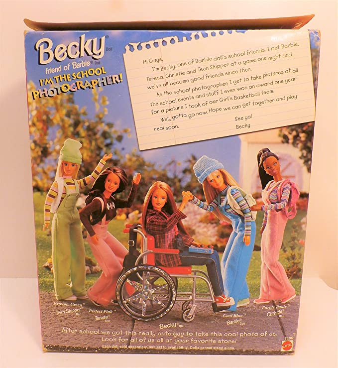 ACCESSORY BARBIE DOLL BECKY SCHOOL PHOTOGRAPHER FAUX LEATHER BROWN BAG PURSE
