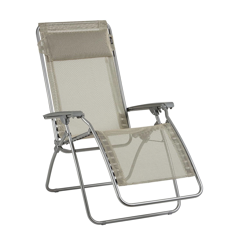 lafuma relax liegestuhl klappbar und verstellbar r clip seigle beige lfm4007 1685 g nstig. Black Bedroom Furniture Sets. Home Design Ideas