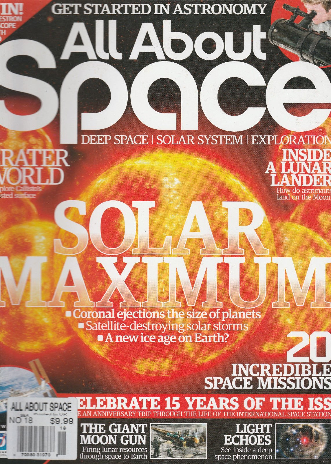 ALL ABOUT SPACE MAGAZINE, NO.18 ( DEEP SPACE SOLAR SYSTEM EXPLORATION
