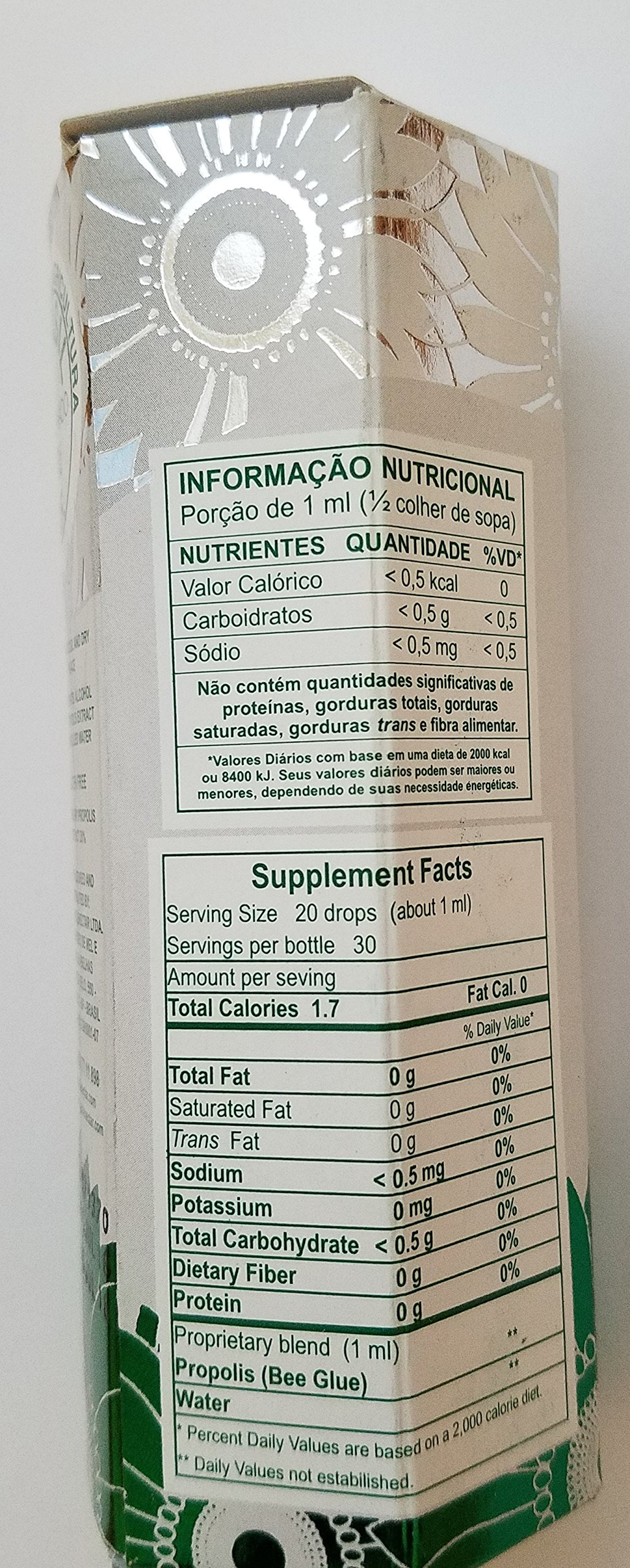 Polenectar 10 Bottles Green Propolis Crystal - Aqueous Solution Extract 30ML by Polenectar (Image #2)