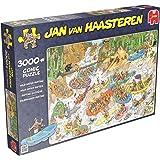Jumbo 19017 - Jan van Haasteren - Wildwasser Rafting, 3000 Teile Puzzle