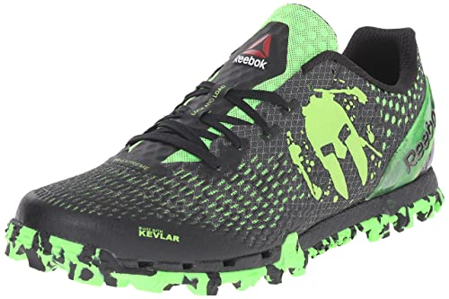 fd3efcf0668b Reebok Men s All Terrain Extreme Wc Trail Running Shoe Gravel Black Solar  Green 8.5 D(M) US  Buy Online at Low Prices in India - Amazon.in