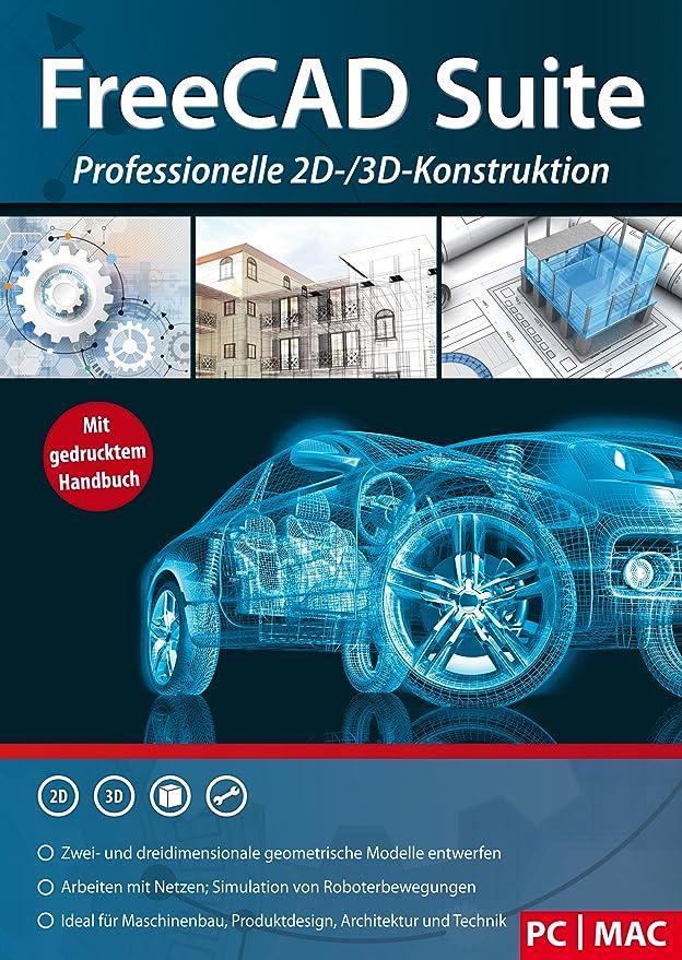 FreeCAD Suite - Professionelle 2D und 3D Konstruktion Architektur ...