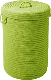 """product image for Simply Home Hamper w/lid - Bright Green 16""""x16""""x24"""""""