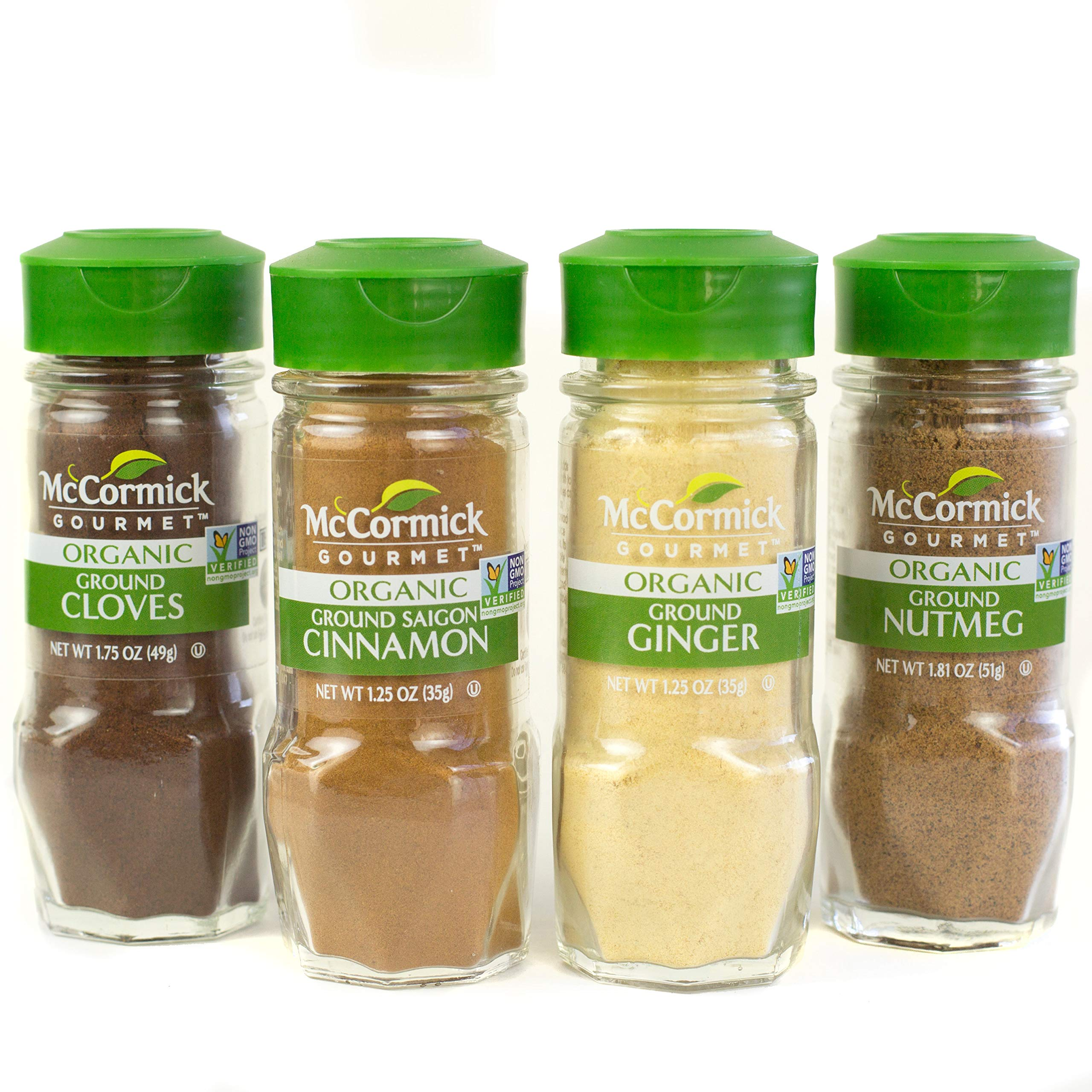 McCormick Gourmet Organic Baking Variety Pack 4 count