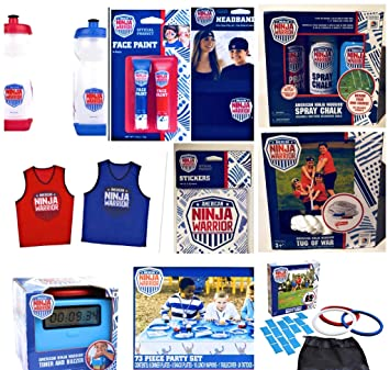 Amazon.com: American Ninja Warrior Party Bundle Set: Health ...