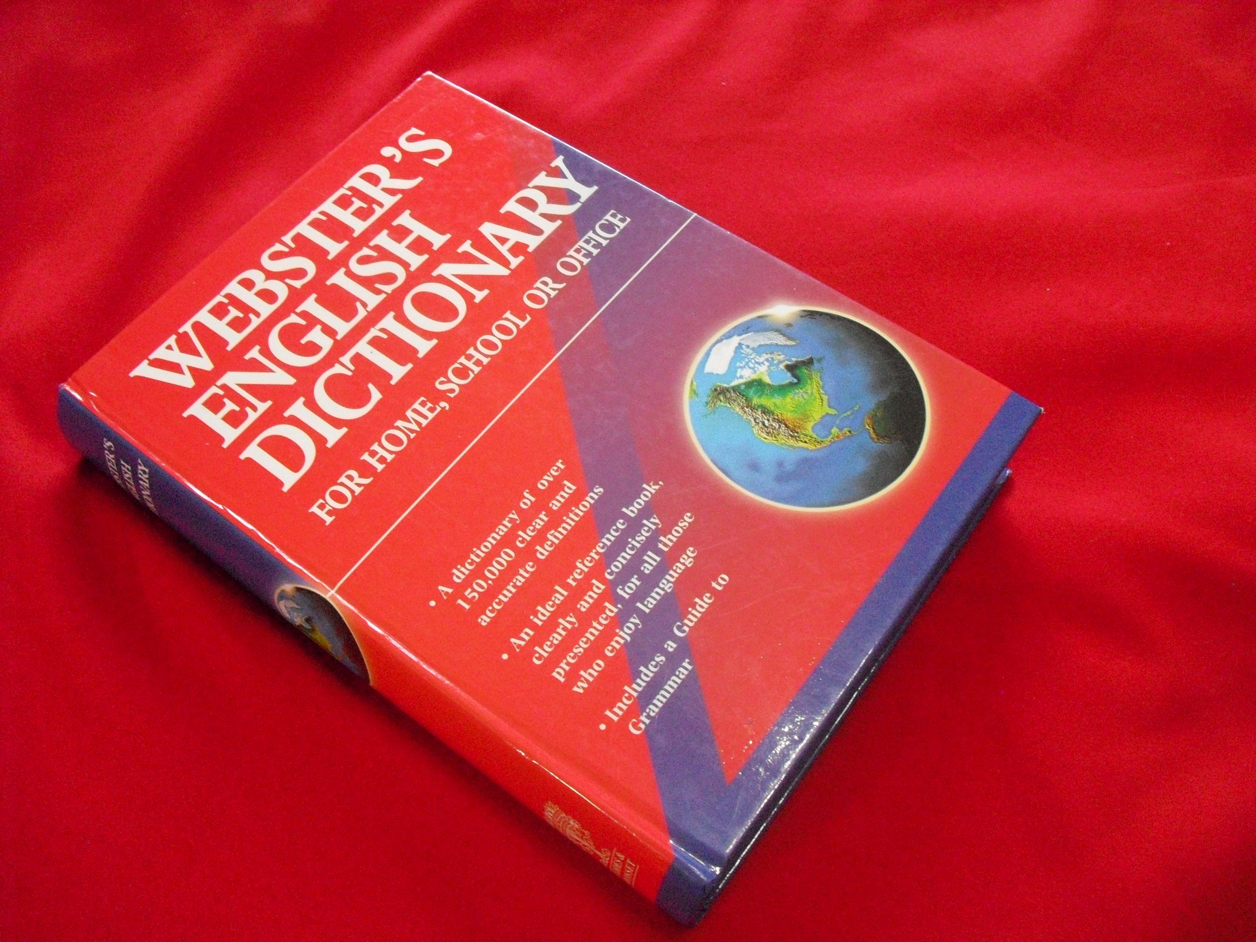 Webter's English Dictionary (For Home, School or Office) pdf