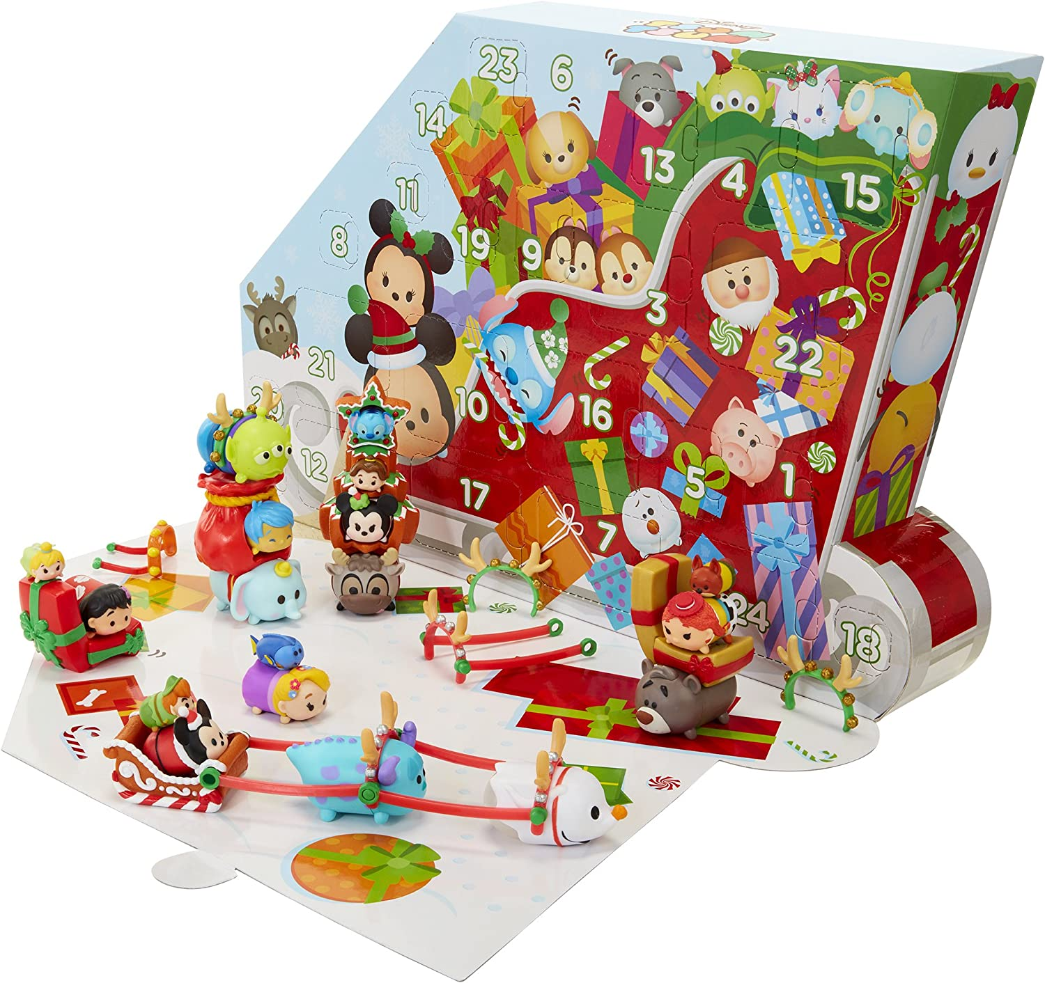 Amazon.com: TSUM TSUM Disney Countdown to Christmas Advent
