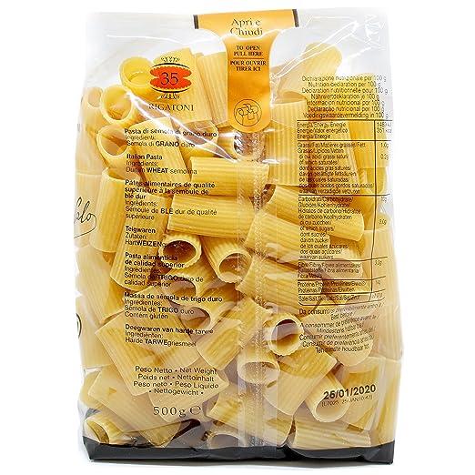 Rigatoni Garofalo 16X500 500 Gr - [Pack De 16] - Total 8 Kg: Amazon.es: Alimentación y bebidas