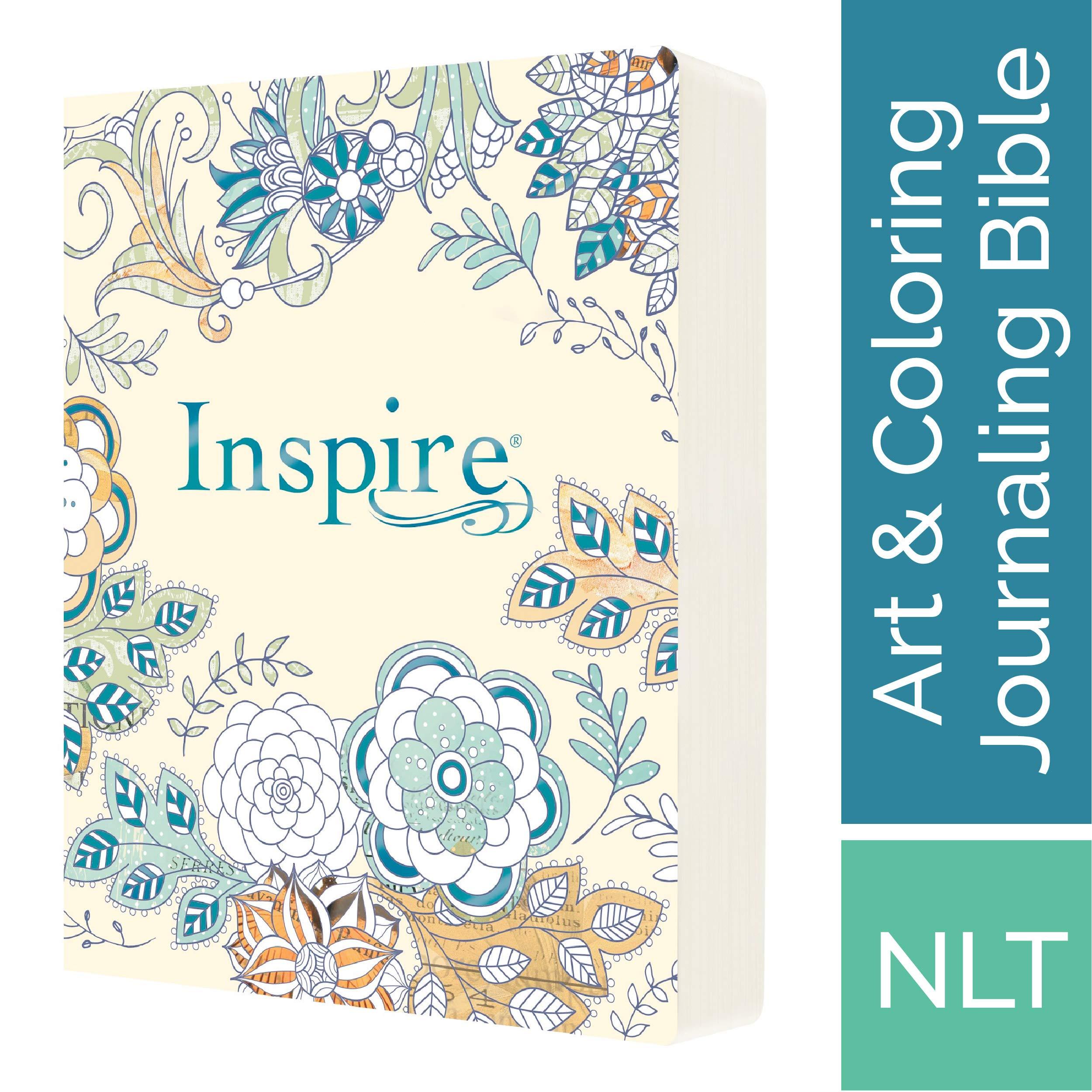 Tyndale Nlt Inspire Bible Softcover Aquamarine