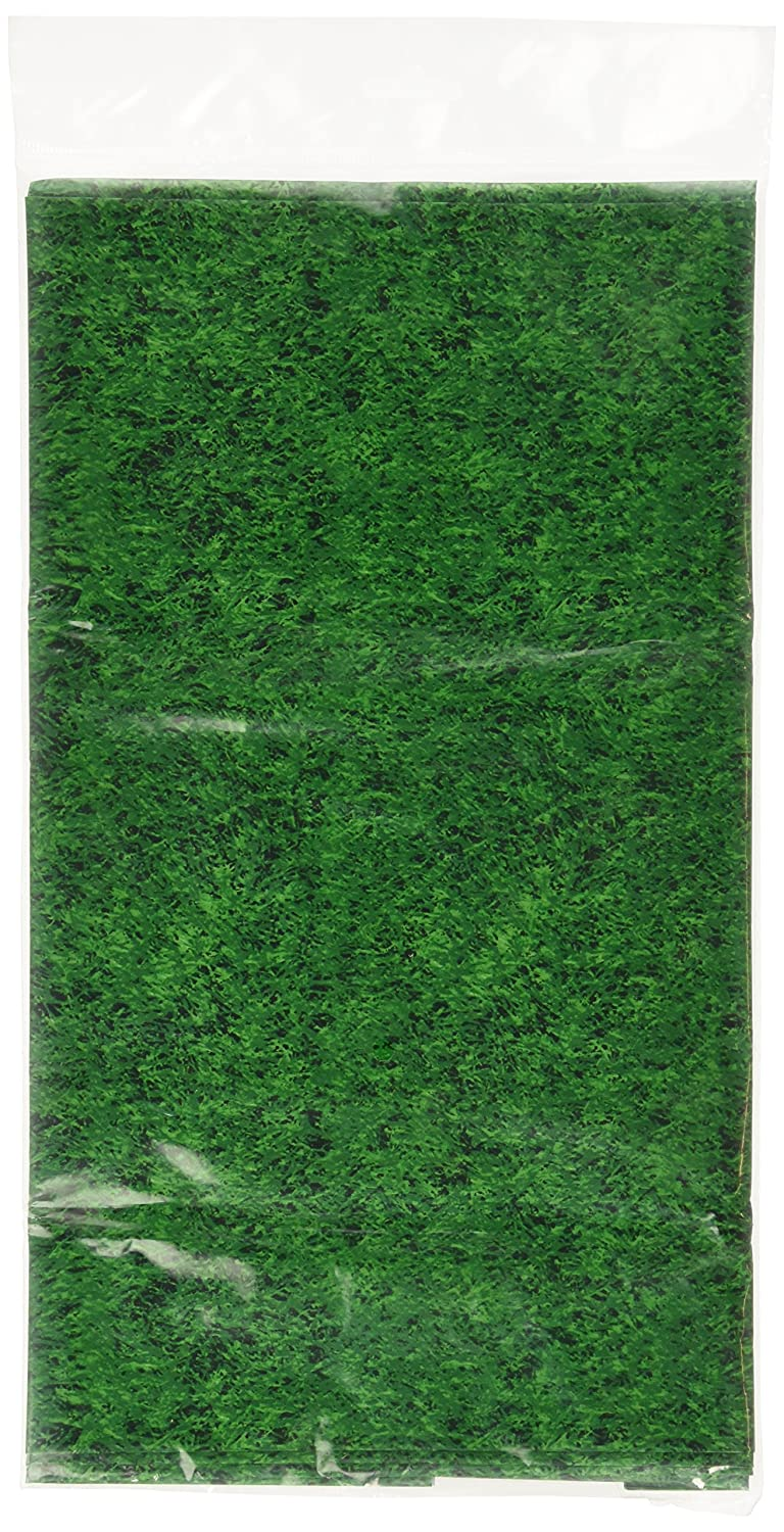 Amscan International Plastic Grass Tablecover 579857 B004DMKSK8
