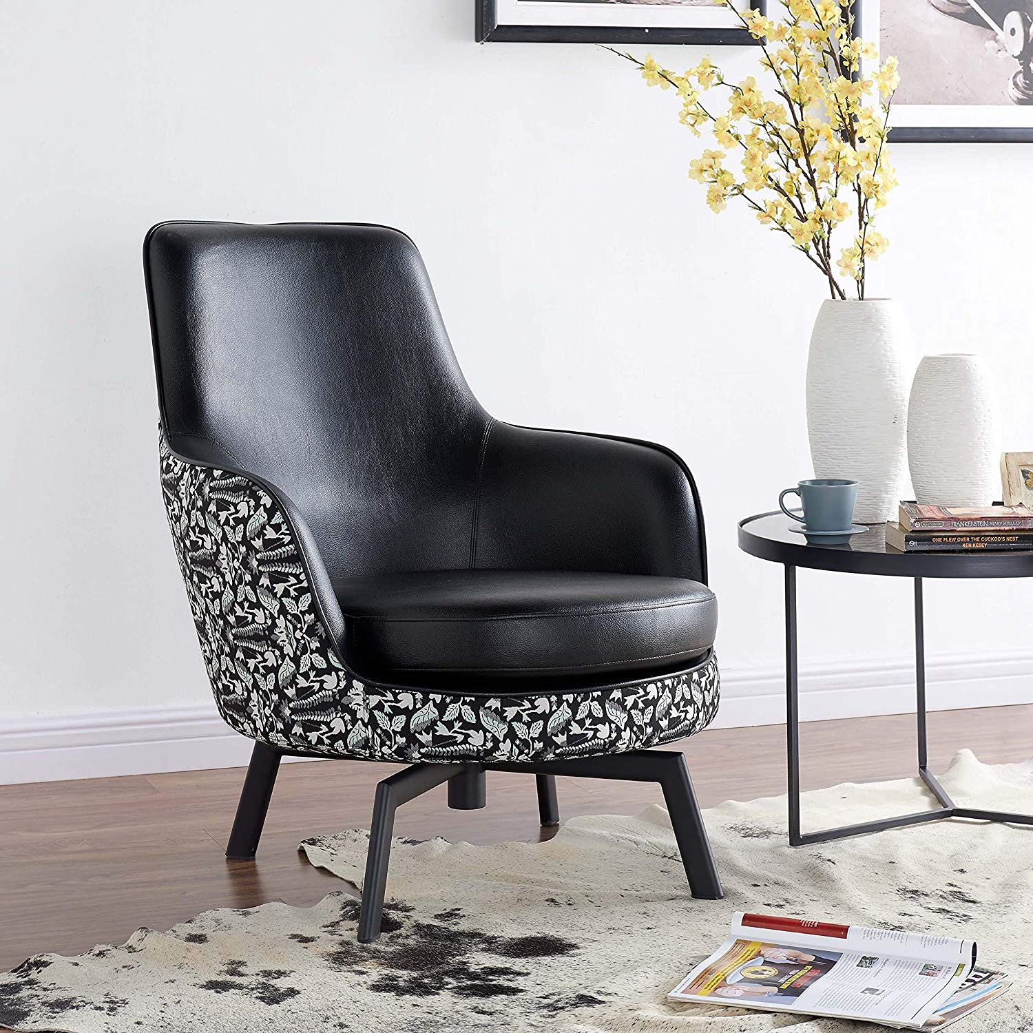 Marvelous Amazon Com New Pacific Direct 4500018 Kamden Pu Leather Onthecornerstone Fun Painted Chair Ideas Images Onthecornerstoneorg