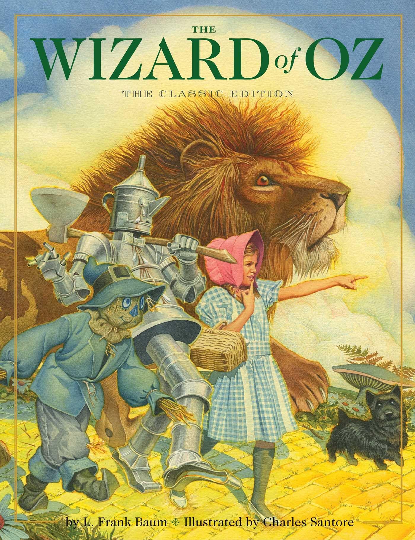 The Wizard Of Oz: L Frank Baum, Charles Santore: 9781604335422:  Amazon: Books