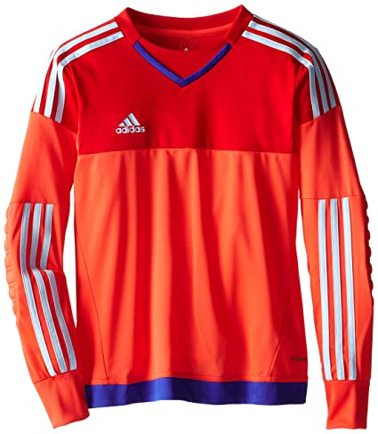8c133d5378d adidas Performance Youth Top Goalkeeping Jersey, X-Small, Bright Red/Light  Scarlet