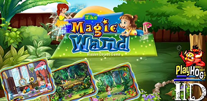 The Magic Wand Find Hidden Object Game Pc Download Amazon Co Uk Pc Video Games