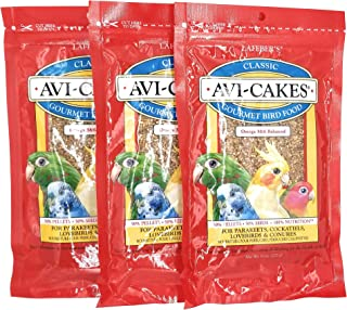 product image for (3 Pack) Lafeber's Original Flavor Avi-Cakes for Parakeets, Cockatiels & Conures