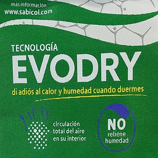 TodosDuermen Colchón Ayre Ecológico - Sabicol (Firmeza Media, 180 x 190 cm): Amazon.es: Hogar