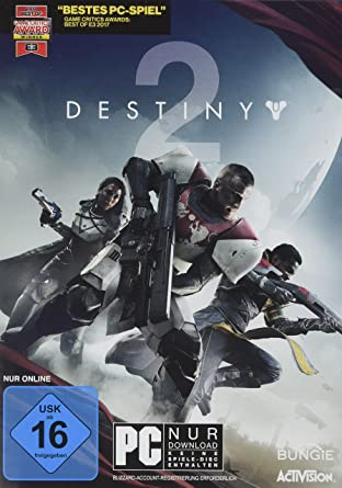 Destiny 2 Standard Edition Pc Amazonde Games
