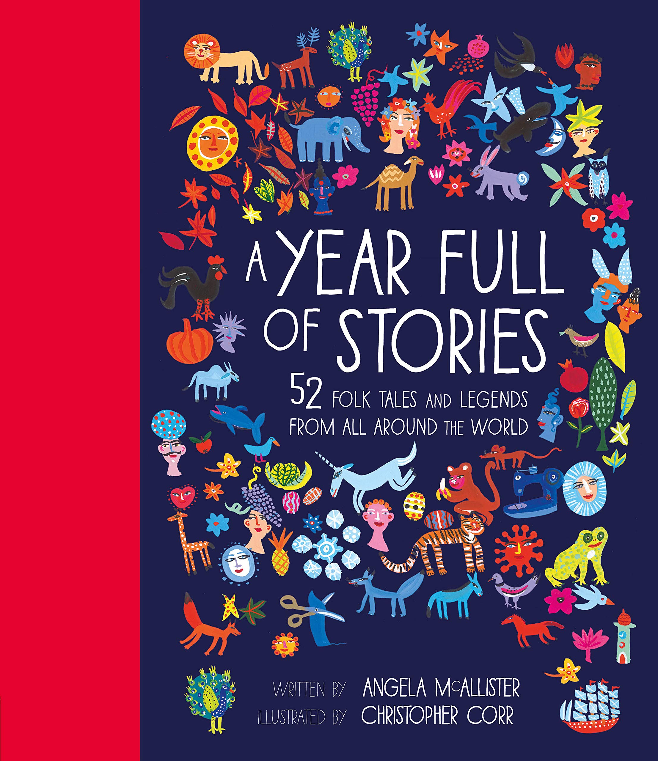 Year Full Of Stories Angela Mcallister 9781847808592 Amazon Com Books