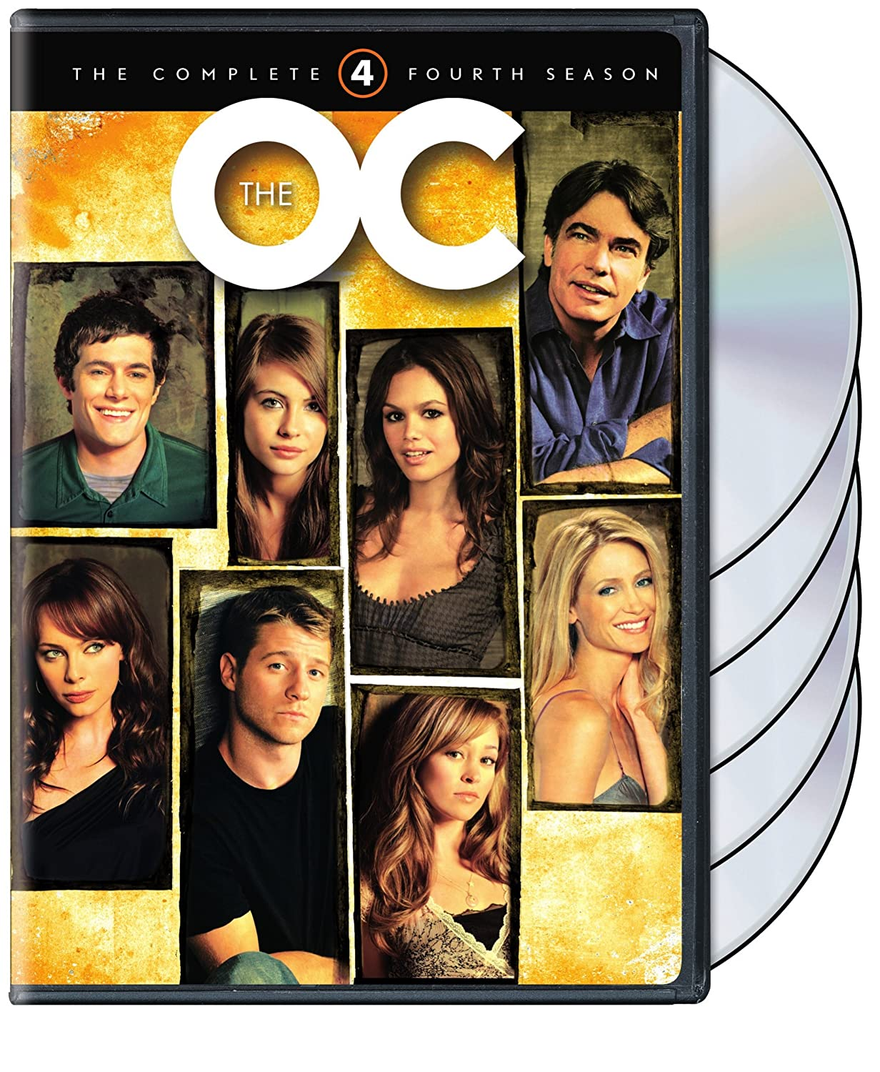 The OC: The Complete Fourth Season Peter Gallagher Kelly Rowan Ben McKenzie Adam Brody