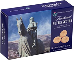 Gardiners of Scotland Traditional Butterscotch Toffee 5.29 Ounce