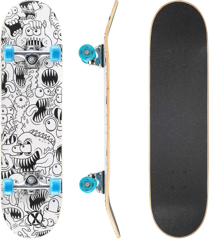 Xootz Kinder-Skateboard für Absolute Anfänger Double-Kick-Trick kaufen