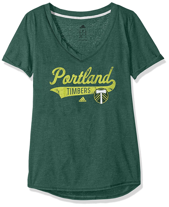 TailスタックS / VネックTee B073J2YTP6 XL|Dark Green Heathered|Portland Timbers Dark Green Heathered XL
