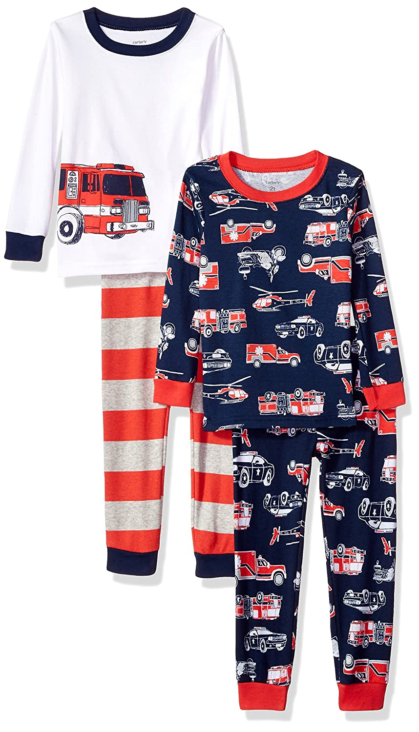 f8be20a34 Amazon.com  Carter s Boys  4 Pc Cotton 341g271  Clothing
