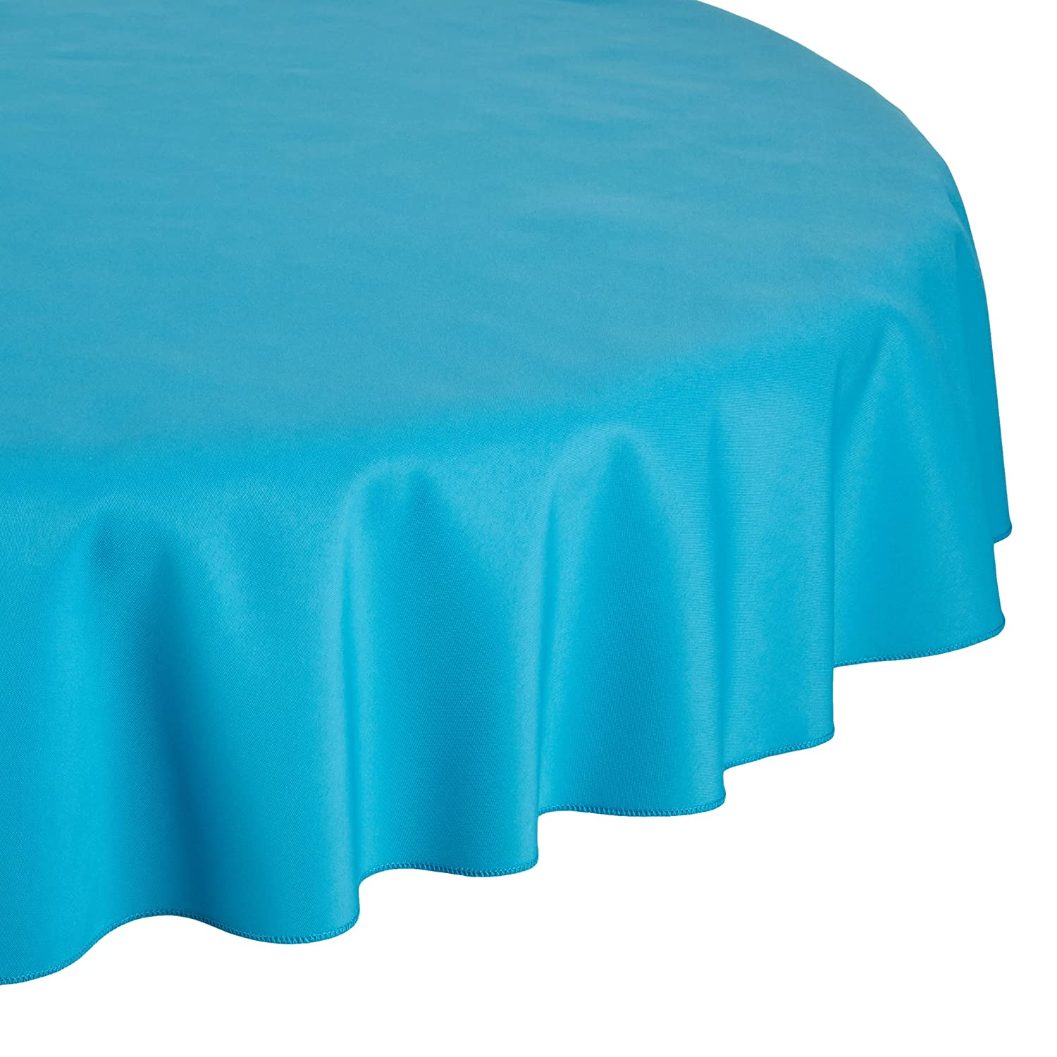 Amazon.com: LinenTablecloth 70 Inch Round Polyester Tablecloth Red: Home U0026  Kitchen