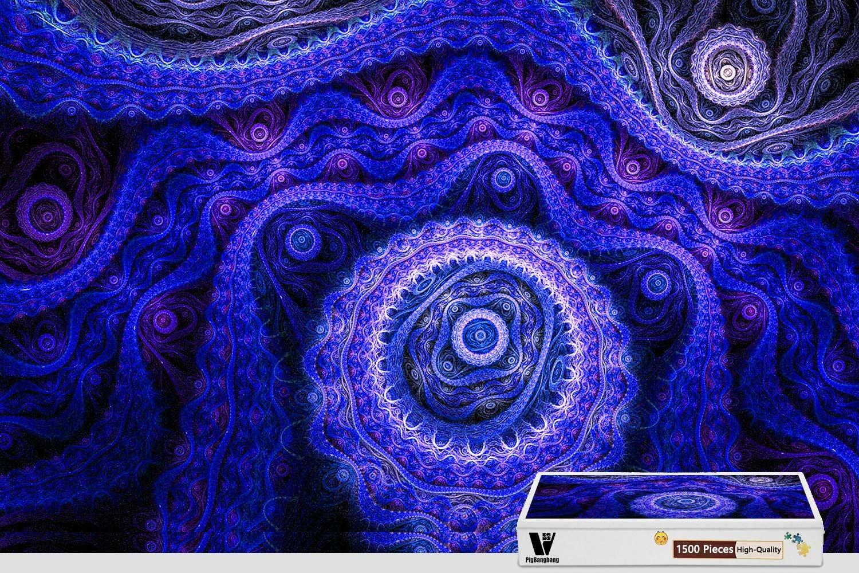 【格安saleスタート】 pigbangbang、34.4 – X X 22.6インチ、ハンドメイドintellectivゲームプレミアム木製DIY接着のJigsaw Nice絵画 – 抽象カラーパターンパープルねじ pigbangbang、34.4 – 1500ピースジグソーパズル B07FRXKRR8, にっぽん津々浦々:72e2e5df --- 4x4.lt