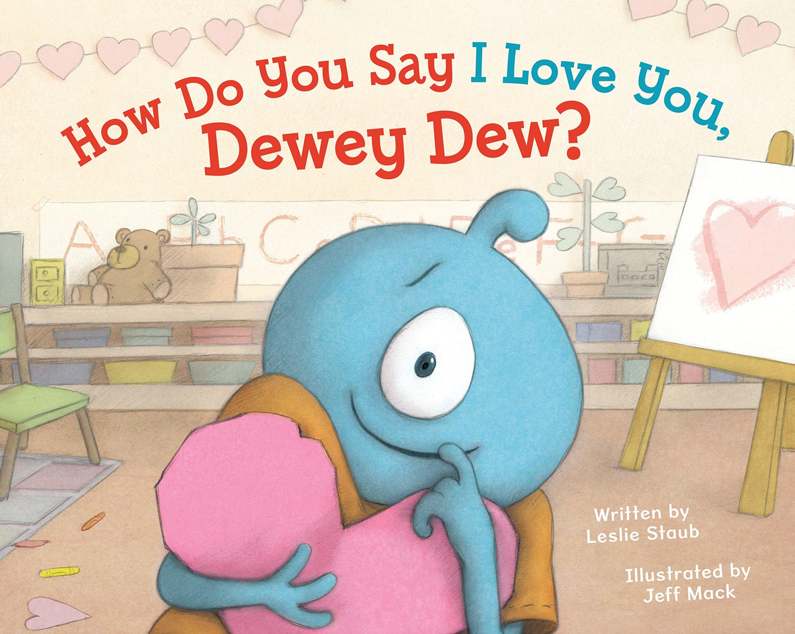 Download How Do You Say I Love You, Dewey Dew? pdf epub